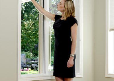 Myggnät fönster